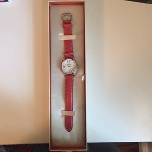Coach analog watch (never used)